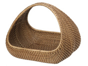 KOUBOO Rattan Decorative Magazine and MultiPurpose Basket