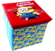 Brand new Despicable Me Minion Ottoman Storage Toy Box and Chair in One