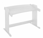 Children's school desk Julia, biological pinewood with white finish