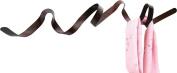 HeadSprung 90 x 20 x 12 cm Mild Steel Wall Mounted Coat Rack, Weathered Bronze