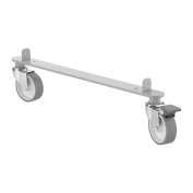 IKEA KALLAX - Set of castors, silver-colour - 4x48 cm