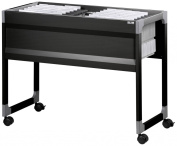 378301 Durable System File Trolley 100 Multi Black S