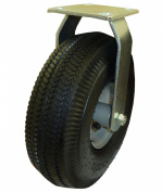 Marathon Industries 00303 25cm Rigid Caster with Air Filled Pneumatic Tyre