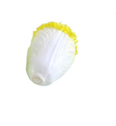 Set of 2 Realistic Artificial Chinese Cabbage Great Kitchen Supply 13cm White