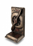Steampunk Metallic Bronze / Copper Finished Plane Propeller Single Bookend