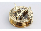 Nautical Collectible Brass Sundial Compass Nautical Decor Maritime Gift