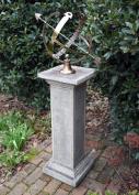 Garden Sundial - Athenian Armillary Stone Sun Dial