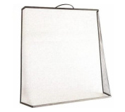 Bakaware Tapered Black Fire Guard Screen / Panel / Fireplace / Safety / Sparkguard