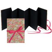 Books by Hand BBHK1138 Accordion Photo Album, Pink