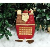 Plush Santa Claus Advent Calendar