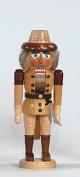 Nutcracker robber 36 cm Seiffen Erzgebirge NEW
