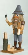 Nutcracker wood hacker mobile Seiffen Erzgebirge NEW