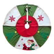 "Santa Christmas Tree Skirt 35"""