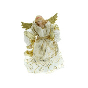 Traditional Gold Angel Christmas Tree Topper