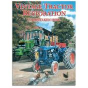 Vintage Tractor Restoration Tin Sign