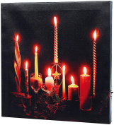 "infactory LED Picture with Flickering ""Advent"