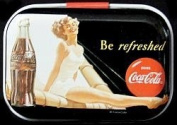 Motif Tin Coca Cola be refreshed Minzbox Kleingelddose Mintdose Pill boxes, pill box