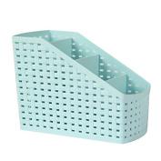 Fanmeili SN2220 Desktop Organiser Desk Storage Container, Blue