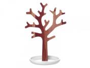 Present Time PT Home Acacia Tree Jewellery Holder Base, White