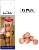 Pack of 12 Cedar Balls Cedar Balls Cubes Natural Wood Moth Reppellent Clothes Freshener Mildew Mustiness