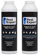 Flea Killer Powder 2 x 300g - Formula 'P' Flea Powder XL pack size from Pest Expert