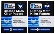 Pest Expert Moth Killer Strips x 2 packs - New to Market Advanced Formulation