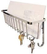 Wall Mounted Mail Holder & Key Rack Holder