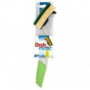 Dishmatic Fillable Washing Up Brush with Heavy Duty Sponge