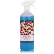 1L of THE CHEMICAL HUT® Fresh Candy Kennel Bactericidal Deodoriser for Pet Training- Kills Smells from Urine, Vomit & Feaces