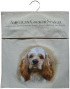 American Cocker Spaniel Breed of Dog Sturdy Natural Cotton Canvas Peg Bag - Useful Gift