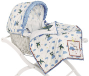 Pink Lining- PL Child One Starry Night Moses Basket
