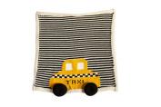 Estella gift-taxi Hand Knit Taxi Organic Cotton Newborn Baby Gift Set