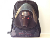 3D Star Wars the Force Awakens Black Large Backpack