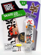 Tech Deck TD Skate Co Series 2 Zoo York Westgate Fingerboard 3/5 w Sticker & Stand New 2015