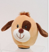 15cm Puppy Dog Coin Piggy Bank with Lights and Barking Sound