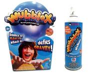 Wubble X Bundle of 2 items - Includes 1 Wubble X (Blue), and 1 can of Wubble X Helium