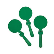 Round Green Clappers