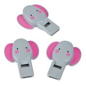 Elephant Flat Whistles 2 units