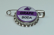 1 GRAPE SODA bottle cap pin INSPIRED by Disney UP