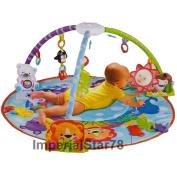 ARSUK 2In1 Baby Play Mat Blue Activity Gym Kick Crawl Fun Sounds Carpet Baby Gift
