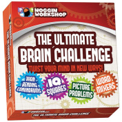 The Ultimate Brain Challenge With Puzzles, Teasers, Conundrums, And Riddles