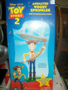 Toy Story 2 Animated Woody Sprinkler with Swing Lasso Action