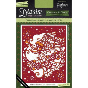 Crafter's Companion Die'sire Create-A-Card Cutting & Embossing Die Christmas Angel