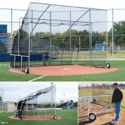 Foldable And Portable Batting Cage