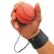 GOGO Bouncy Wrist Band Ball Pack of 6, Assorted, For Wrist Exercise