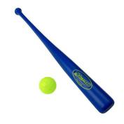 Blitzball Plastic Baseball and Bat and Ball Combo Set