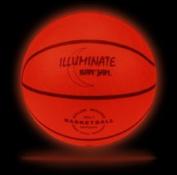 Kan Jam ILLUMINATE Ultra-Bright LED Light-Up Glow Basketball