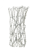 Athletic Specialties NBM Steel Chain Basketball Net, Silver, Official Size