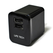 For Garmin Forerunner 110 / Approach S1 / Approach S1W / Approach S2 / Approach S3 Life-Tech 10W Dual USB Wall Home AC Charger