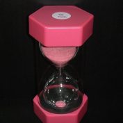 Security Fashion Hourglass 15 Minutes Sand Timer -Pink